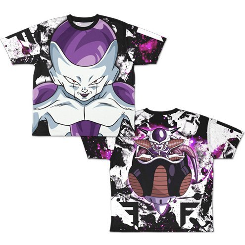 Dragon Ball Z - Frieza Double-sided Full Graphic T-shirt (M Size)