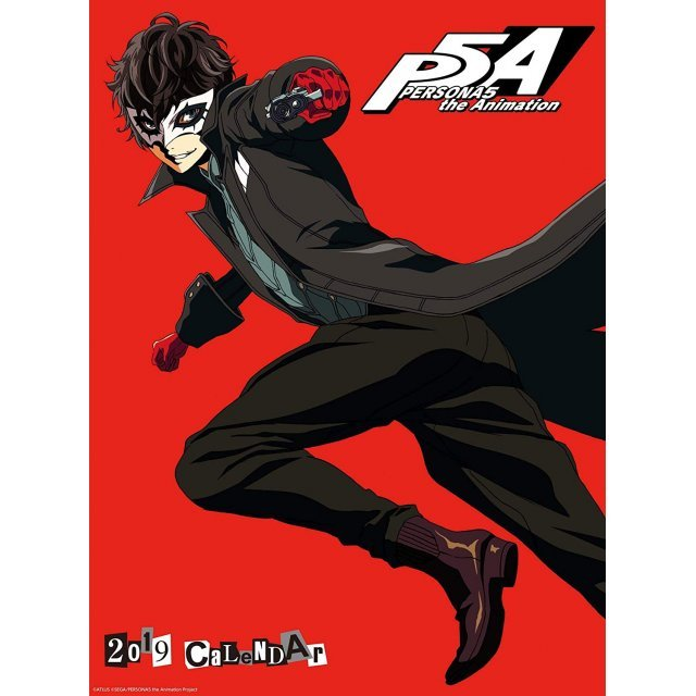 Ensky Persona 5 The Animation - 2019 Calendar