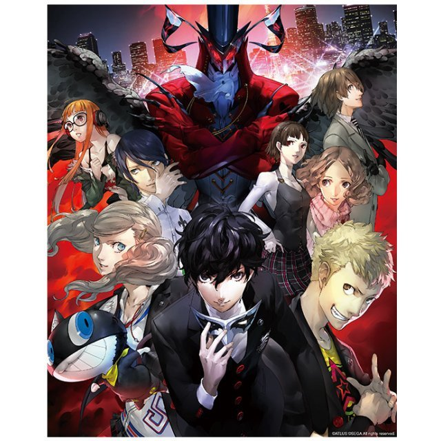 Persona 5 Canvas Wall Art