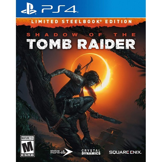 Shadow of the Tomb Raider [Limited Steelbook Edition] (English Subs)