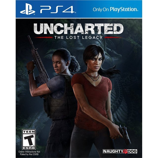 Uncharted: The Lost Legacy (Spanish Cover)