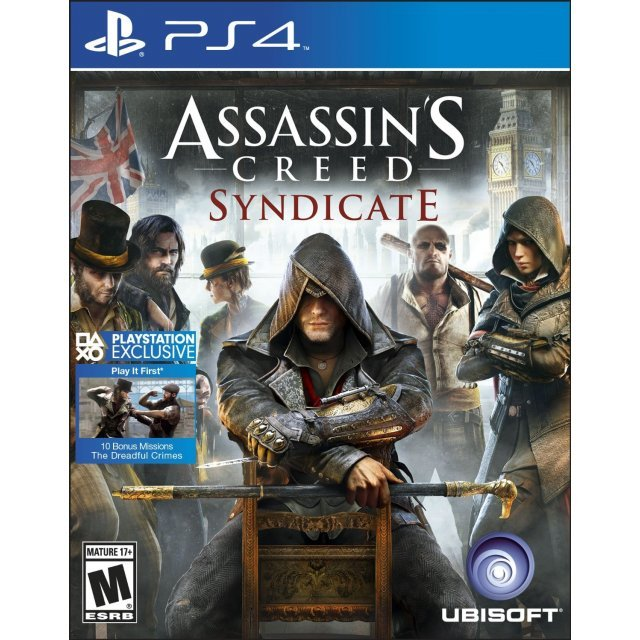 Assassin's Creed Syndicate (Spanish Cover)