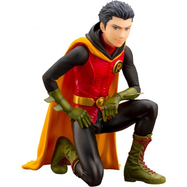 DC COMICS IKEMEN Series Batman 1/7 Scale Pre-Painted Figure: Damian Robin [First Release Limited Edition]