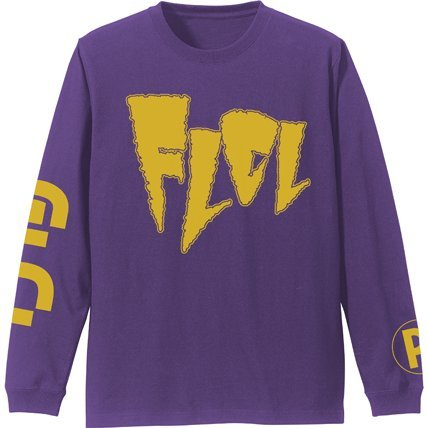 FLCL Sleeve Rib Long Sleeve T-shirt Purple (S Size)