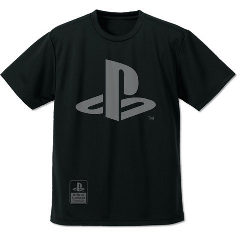 Playstation - Player Dry T-shirt Black (M Size)