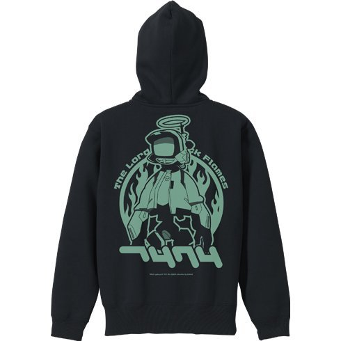 FLCL Canti Pullover Hoodie Black (S Size)