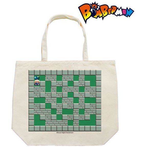 Super Bomberman Tote Bag - Battle Stage 1: Futsu Ga Suteki