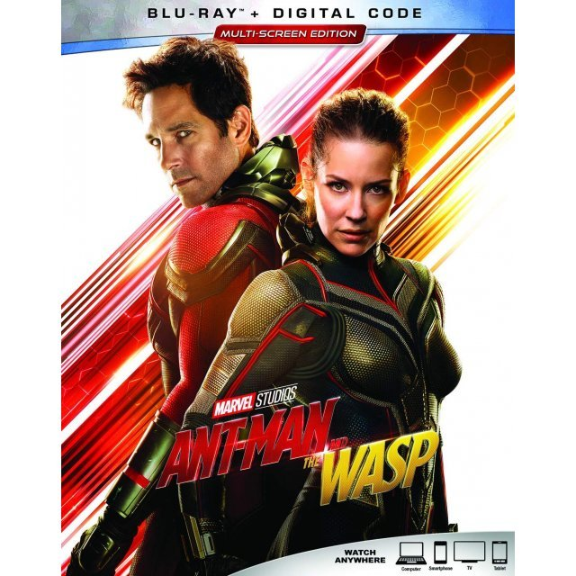 Ant-Man And The Wasp [Blu-ray+Digital HD]