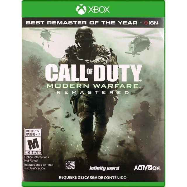Call of Duty: Modern Warfare Remastered (Latam Cover)