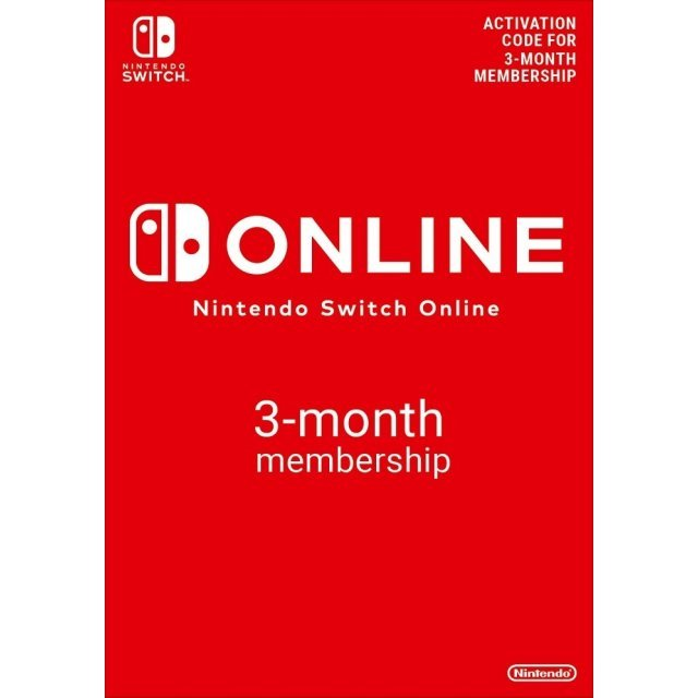 Nintendo Switch Online 3-Month Individual Membership | UK Account Only