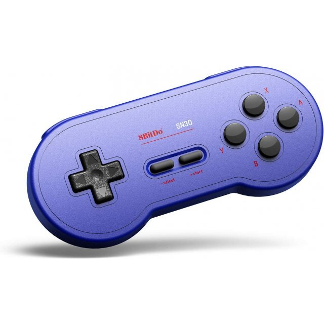 8Bitdo SN30 Bluetooth GamePad (GP Blue Edition)