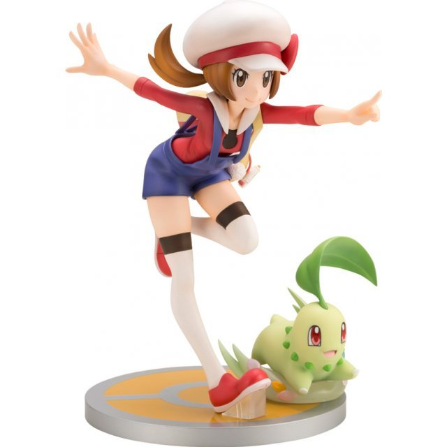 ARTFX J Pokemon Series 1/8 Scale Pre-Painted Figure: Lyra with Chikorita
