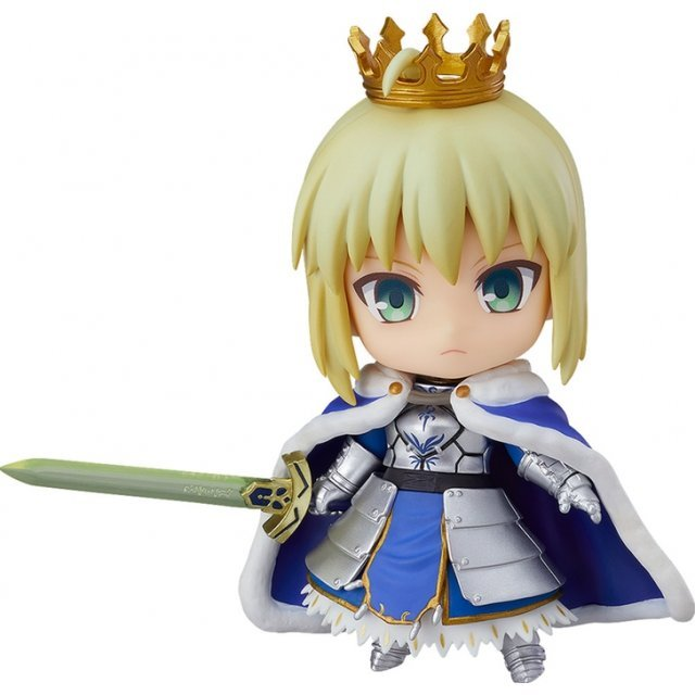 Nendoroid No. 600b Fate/Grand Order: Saber/Altria Pendragon: True Name Revealed Ver.