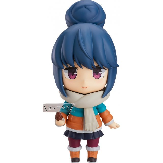 Nendoroid No. 981-DX Laid-Back Camp: Rin Shima DX Ver. [Good Smile Company Online Shop Limited Ver.]