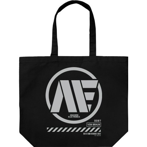 Mobile Suit Zeta Gundam - Anaheim Electronics Large Tote Bag Black