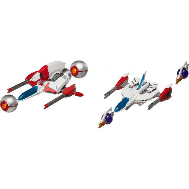 figma SP-112 Thunder Force III / Thunder Force IV: Fire Leo-03 'Styx' / Fire Leo-04 'Rynex'