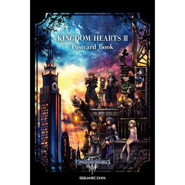 Kingdom Hearts III Postcard Book