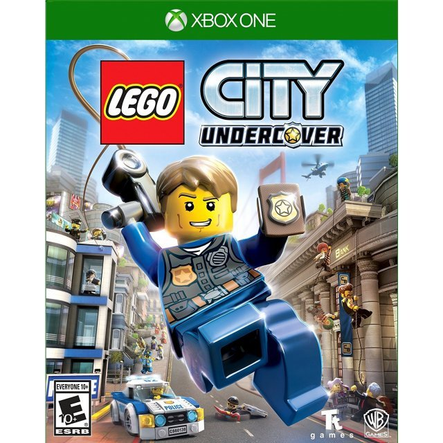 LEGO City Undercover (Spanish Cover)
