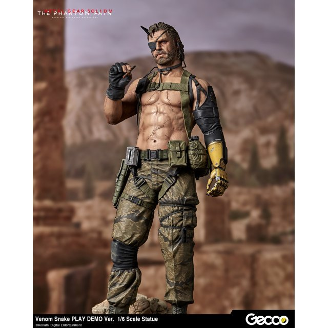 Metal Gear Solid V The Phantom Pain 1/6 Scale Pre-Painted Statue: Venom Snake Play Demo Ver.