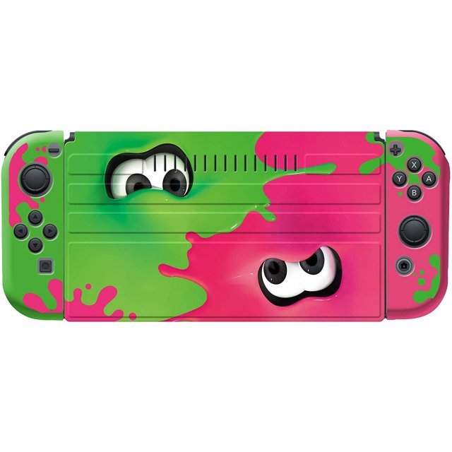 Splatoon 2 Protector Set Collection for Nintendo Switch (Inkling Girl)