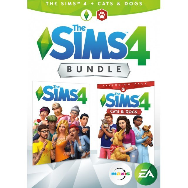 The Sims 4 + Cats & Dogs Bundle (English & Chinese Subs)