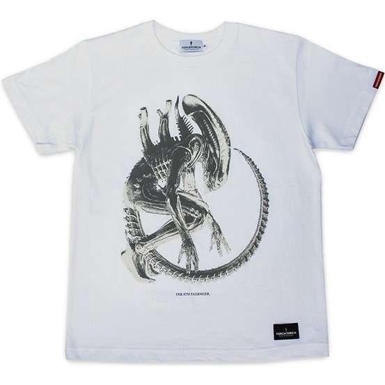Torch Torch - Alien The 8th Passenger T-shirt White (L Size)