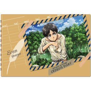Attack On Titan Croquis Diary - Eren Yeager