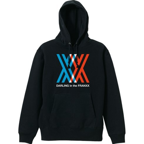 Darling In The Franxx Pullover Hoodie Black (XL Size)
