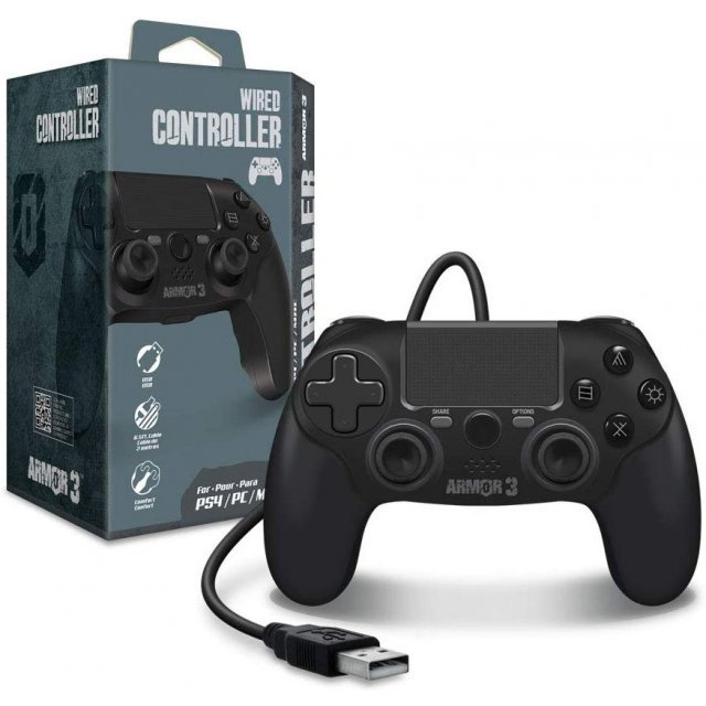 Hyperkin Armor3 Wired Game Controller for PS4/ PC/ Mac