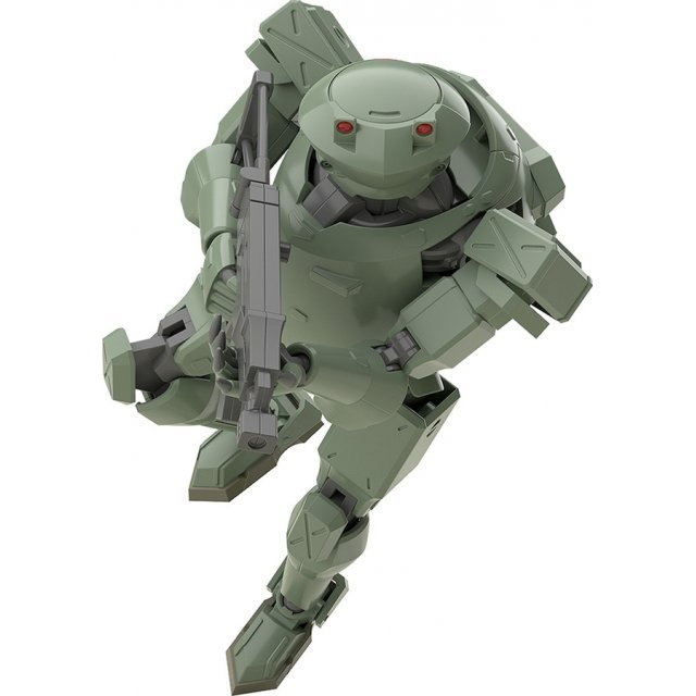 MODEROID Full Metal Panic! Invisible Victory 1/60 Scale Model Kit: Rk-91/92 Savage (Olive)