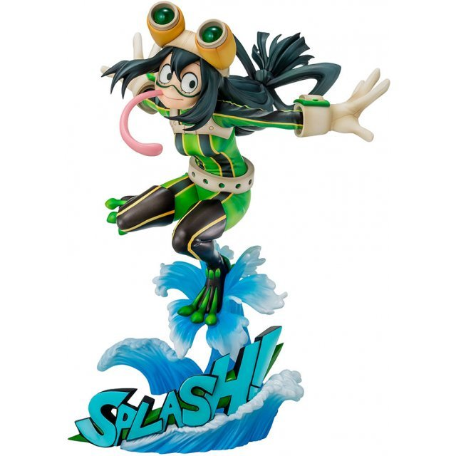 8 Scale PVC Figure Tsuyu Asui Hero Suit Version 1 Bell Fine My Hero Academia
