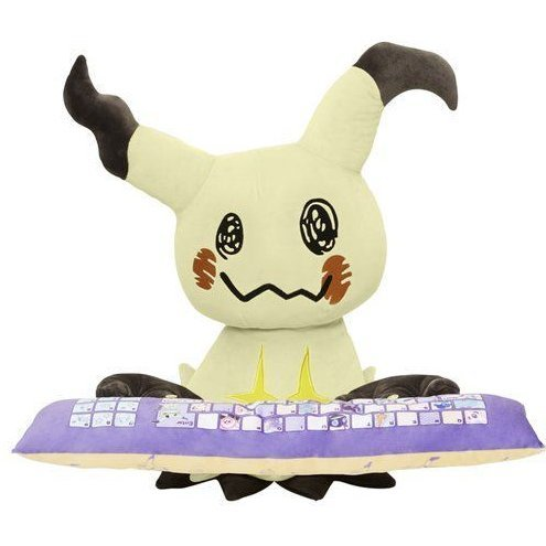Pocket Monsters Sun & Moon PC Cushion: Mimikyu
