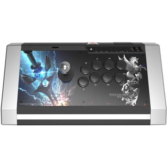 Qanba SoulCalibur VI Obsidian Arcade Joystick for PS4/PS3/PC