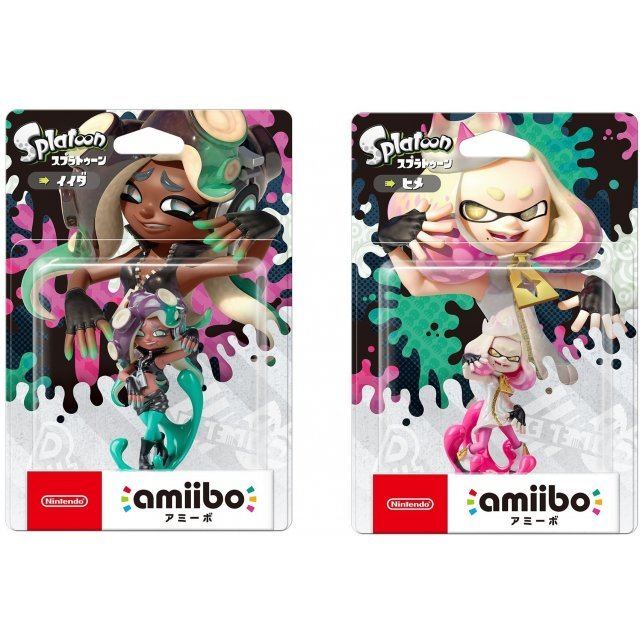 amiibo Splatoon 2 Series Figure Hime & Ida [Special Bundle Pack] (Re-run)