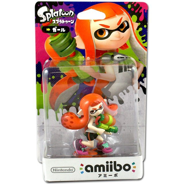 amiibo Splatoon Series Figure (Girl) (Re-run)