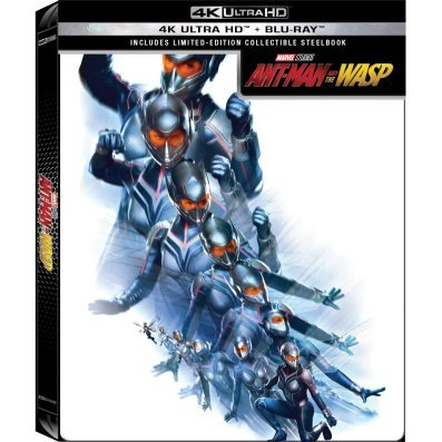 Ant-Man And The Wasp (4K UHD+Blu-ray 2D) (2-Disc) (Steelbook) (Limited Edition)