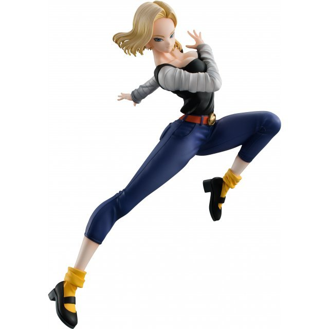 Dragon Ball Gals Dragon Ball Z Pre-Painted PVC Figure: Android 18 Ver. IV