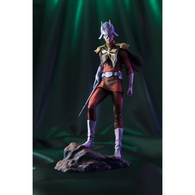 Gundam Guys Generation Mobile Suit Gundam 1/8 Scale Pre-Painted Figure: Char Aznable Art Graphics