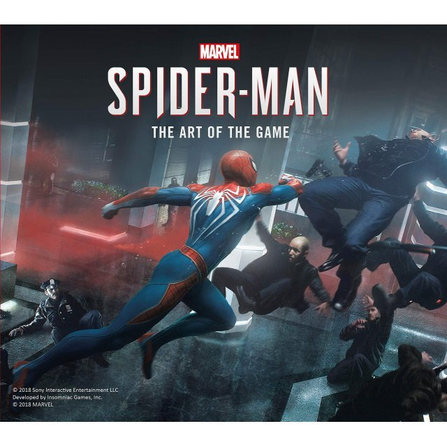 MARVEL'S SPIDER-MAN: THE ART OF THE GAME (HARDCOVER)