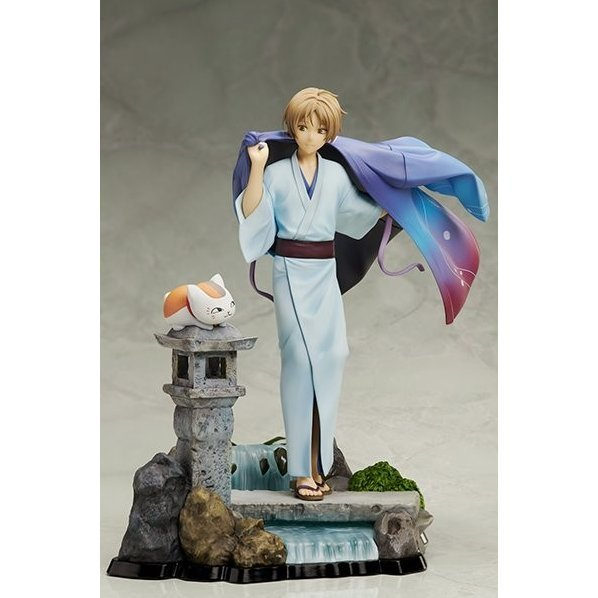 Natsume's Book of Friends the Movie Tied to the Temporal World 1/8 Scale Pre-Painted Figure: Natsume Takashi and Nyanko-sensei