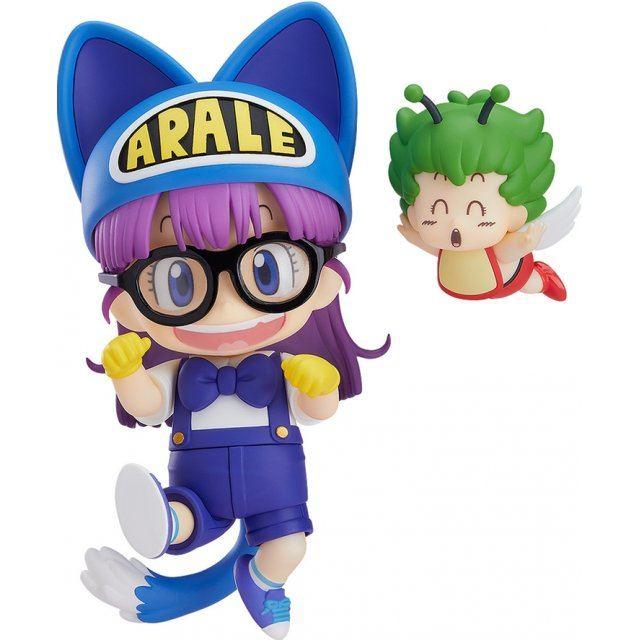 Nendoroid No. 1009 Dr. Slump Arale Chan: Arale Norimaki Cat Ears Ver. & Gatchan [Good Smile Company Online Shop Limited Ver.]