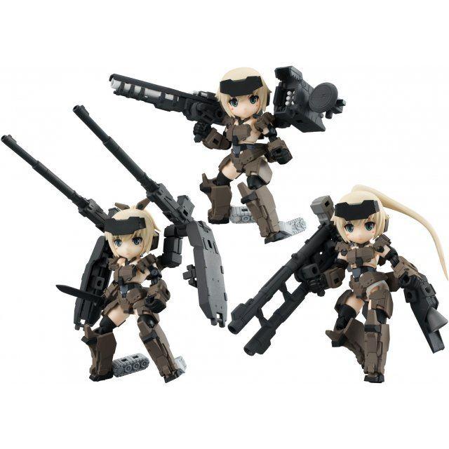 Desktop Army Frame Arms Girl KT-321f Gourai Series Ver. 1.2 (Set of 3 pieces)