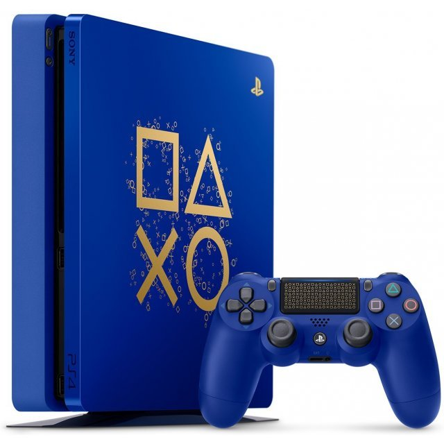 PlayStation 4 Slim 1TB Console Days of Play Bundle [Limited Edition]