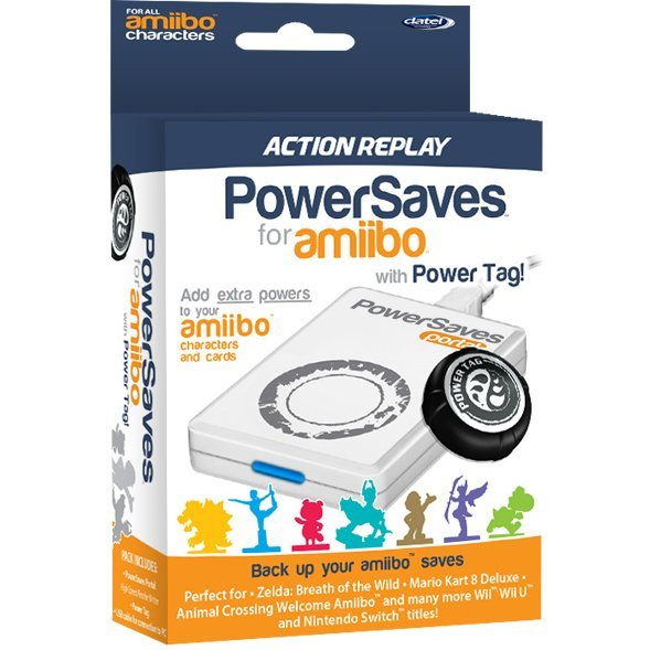 Action Replay Powersaves for amiibo