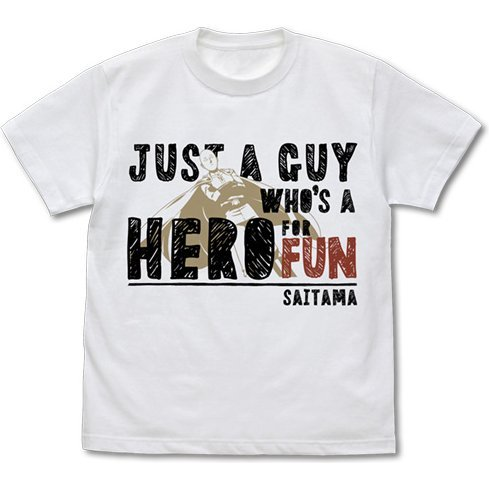 ONE-PUNCH MAN: JUST A GUY WHO'S A HERO FOR FUN T-SHIRT