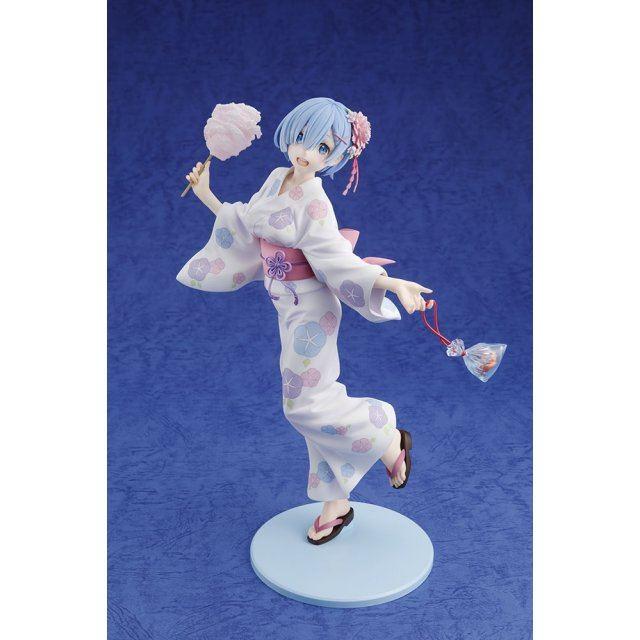 Re:Zero kara Hajimeru Isekai Seikatsu 1/7 Scale Pre-Painted Figure: Rem Yukata Ver.