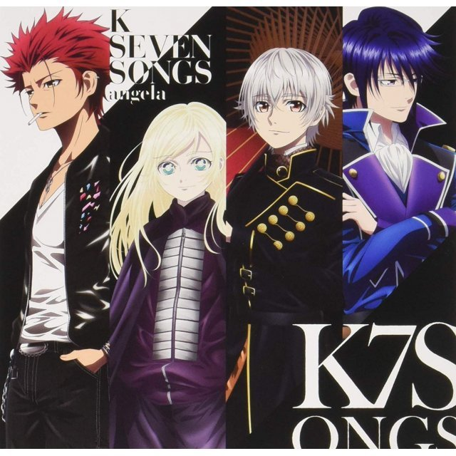 Theater Animation: K Seven Stories - ED Theme Song Collection [CD+Blu-ray]