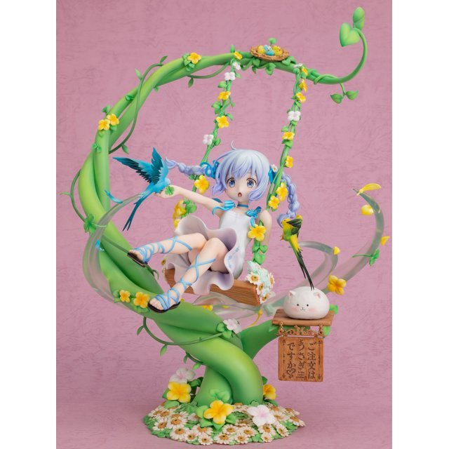 Is the Order A Rabbit? 1/7 Scale Pre-Painted Figure: Chino Flower Swing