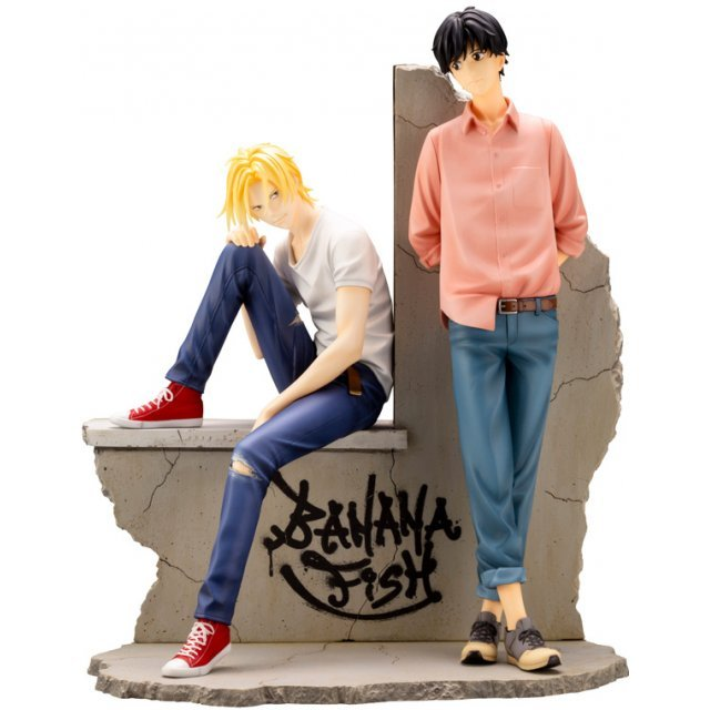 ARTFX J BANANA FISH 1/8 SCALE PRE-PAINTED FIGURE: ASH & EIJI