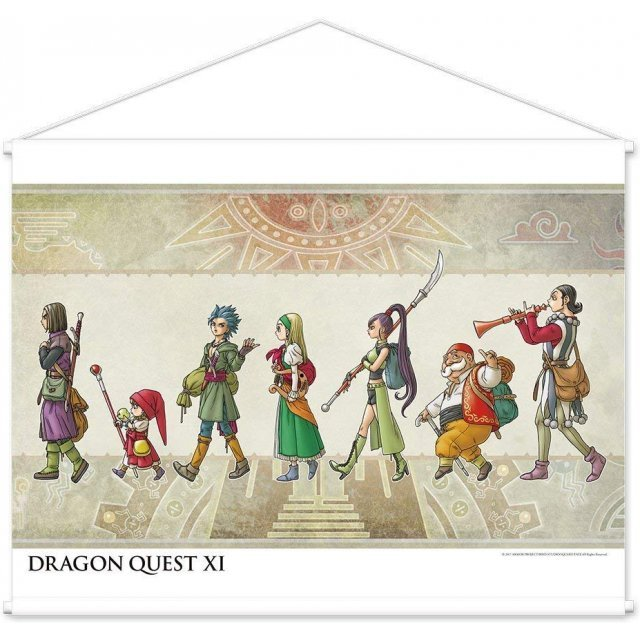 DRAGON QUEST XI WALL SCROLL: A LANDSCAPE ALIGNMENT
